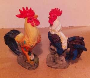 Петух курица елочная игрушка сувенир