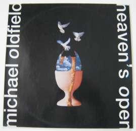 Michael Oldfield. Heaven's Open (виниловый диск)