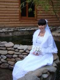 Продам свадебное платье, перчатки и туфли р. 38 - в подарок!!! title=