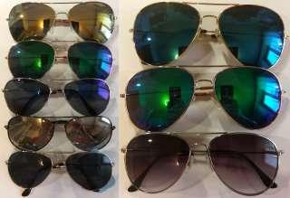 Очки солнцезащитные «Aviator» унисекс