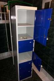 Шкафчик металевий