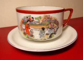 Раритет чашка блюдце Япония Будя