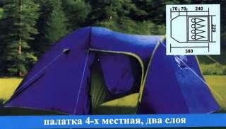 Палатка четырехместная Coleman 1009 Польша  title=