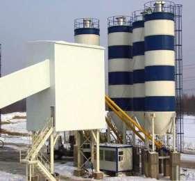 Стационарный бетонный завод MEKA 110К MB-110К