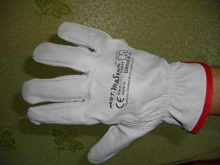 Перчатки кожаные рабочие  DRIVER