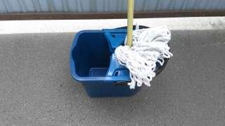 Набор для уборки - швабра палубная + ведро с отжимом