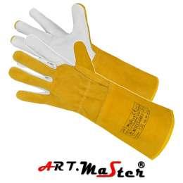 Перчатки аргонщика кожаные сварочные REFLEX-GOLD