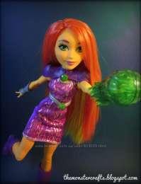 Кукла DC Super Hero Girls Starfire Action Супер геройские девушки Стар title=