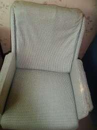 Кресло для дачи,съемной квартиры, под перетяжку title=