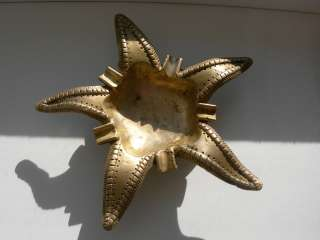 Эксклюзивная пепельница, Морская звезда, бронза, Германия