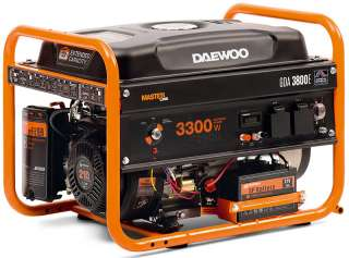 Однофазный бензогенератор генератор Daewoo GDA 3800Е title=