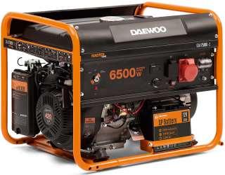 Трехфазный бензогенератор генератор Daewoo GDA 7500E-3 title=