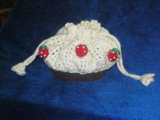 Вязаная сумка-косметичка амигуруми для мелочей и не только
