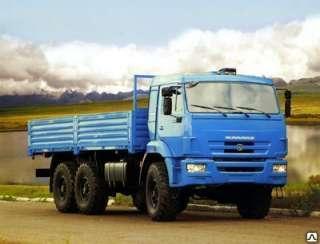 Новый полноприводный грузовой автомобиль КАМАЗ-43118-6012-48 (6х6)