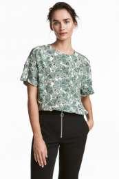 Новая блузка креп H&M размер L title=