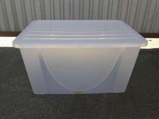 Емкость для хранения вещей с крышкой 40 л