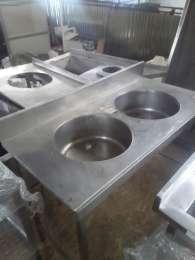 Продам производственную мойку б/у из нержавеющей стали для общепита