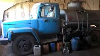 Топливозаправщик АТЗ-4,2 на базе ГАЗ 3307 (бензиновый двигатель) title=