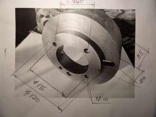 Планшайба токарная Ф 250 мм