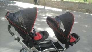 Продам детскую коляску для двойни