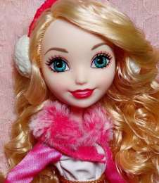 Ever After High Эппл Вайт Epic Winter Apple White title=
