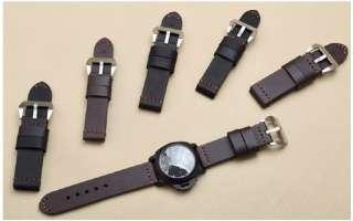 Ремешок для часов кожаный 22 24 мм браслет ремінець годинника Спецназ