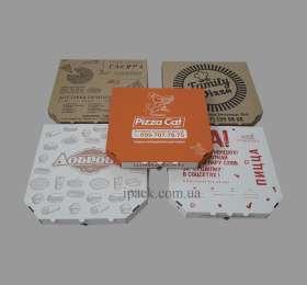 Коробки для пиццы 25,30,32,35,40,45.50.Упаковка для пиццы. АЙПАК