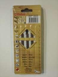 Пилочки Rebir для электро-лобзика , артикул 102255 T301CD (по дереву)