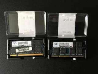 Оперативная память для ноутбука, 2 планки по 1GB PC-2-5300S