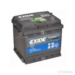 Аккумулятор EXIDE PREMIUM 50Ah-12v EА530 207х175х190 | R,EN450 Европа title=