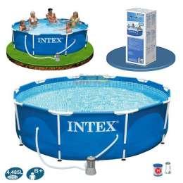 Бассейн каркасный Intex 28712 / 28212 (366*76) + насос-фильтр title=