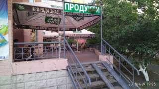 Готовый бизнес продуктовый магазин с летней терассой