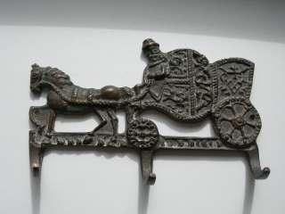 Вешалка, ключница, Карета, повозка, бронза, Франция