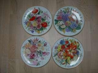 Тарелки, Цветы, Grande Finale, Германия, серия, 4 шт.