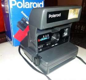Фотоаппарат Polaroid 636 CloseUp. Made in the UK