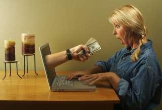 Требуется сотрудник для работы в интернете(женщина) title=