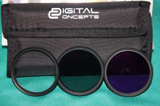 Набор светофильтров. Digital concepts. 52 мм