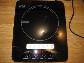 Плита индукционная настольная электрическая настольная Ergo IHP-1607
