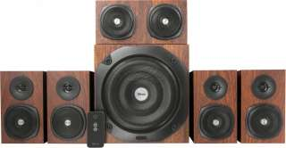 Trust Vigor 5.1 Surround Speaker System for pc Brown