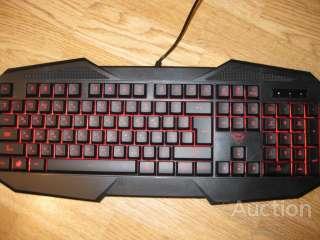 Клавиатура с подсветкой TRUST GXT 830 Gaming Keyboard RU