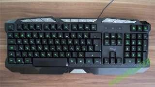 Клавиатура с подсветкой Тrust gxt 280 led Illumina