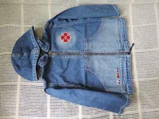Джинсовая куртка-парка Gloria Jeans р. 110см title=