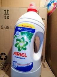 Гель для стирки Ariel Professional 5.81 л, (90 - 150 стирок) title=