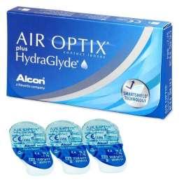Линзы AIR OPTIX plus HydraGlyde купить title=