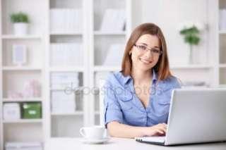 Секретарь-кадровик на дому, работа женщинам title=