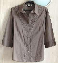 Замечательная блуза из натуральной ткани, М, р.48-50