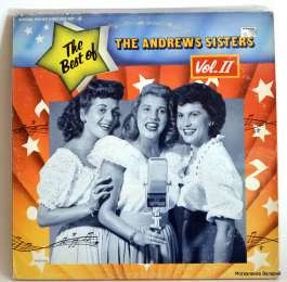 The Andrews Sisters ‎– The Best Of The Andrews Sisters Vol. II