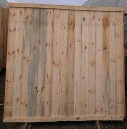 Щит ограждения деревянный 2х2м