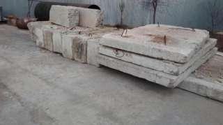 ФБС-5 - фундаментные блоки , Б/У , 8 шт , г. Ирпень ; Дорожные плиты