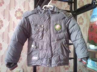 Куртка зимняя детская для мальчика title=